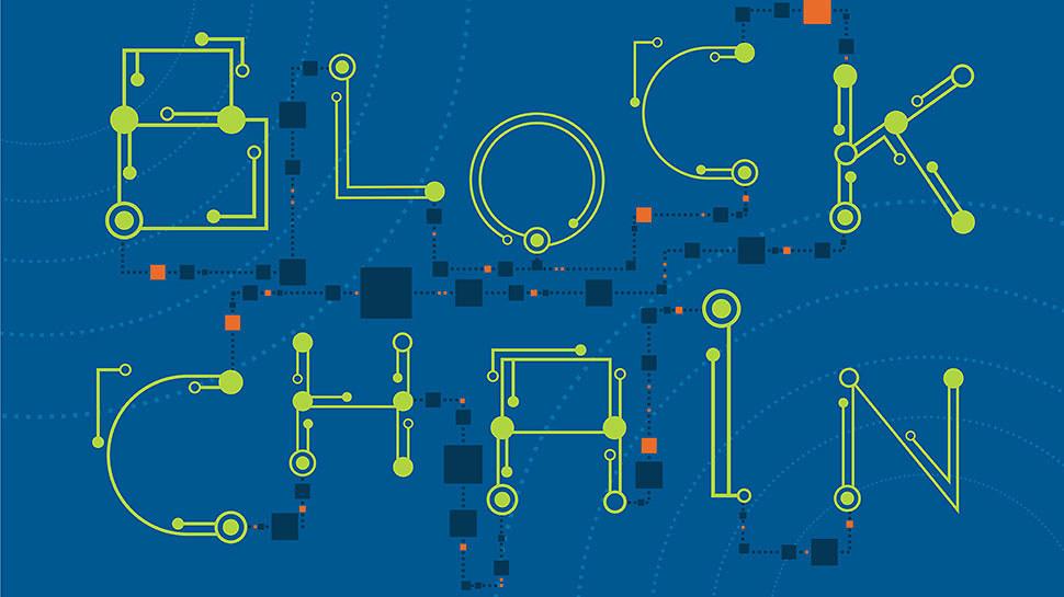 Blockchain écrit en digitalisé