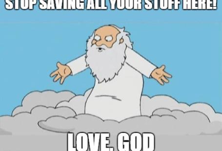 Dieu dans le Cloud
