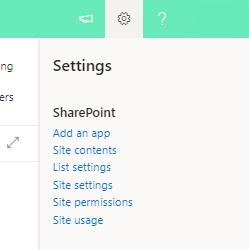 Une image où il faut ajouter une application SharePoint