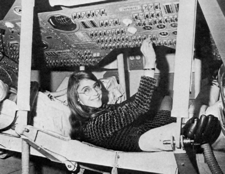 Margaret Hamilton, l'une des femmes du web
