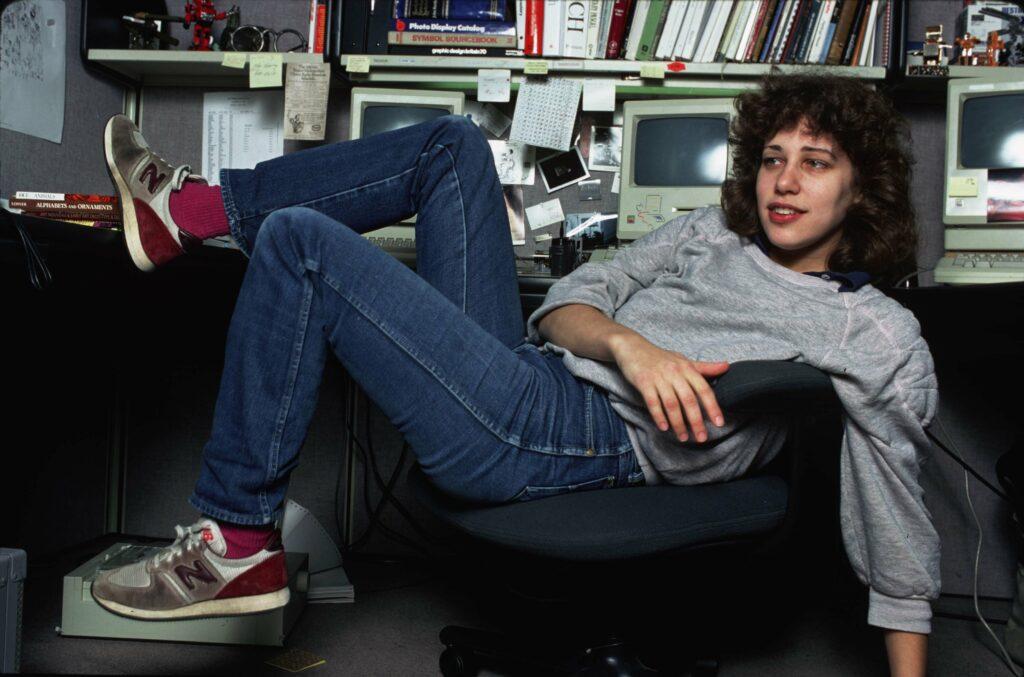Susan Kare, l'une des femmes du web